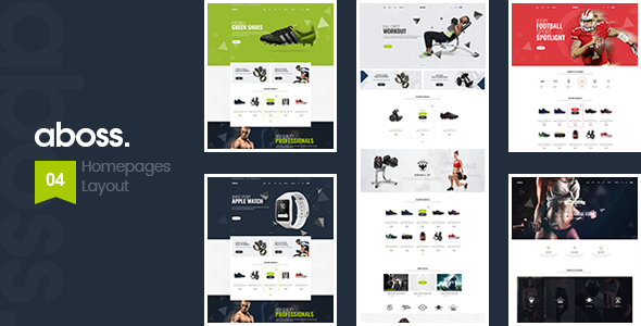 Aboss - Opencart 3 Theme for Sport Shop Free Download | Nulled
