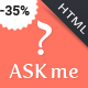 Ask me - Responsive Questions and Answers Template - ThemeForest Item for Sale