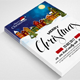 Marry Charistmas Flyer Template