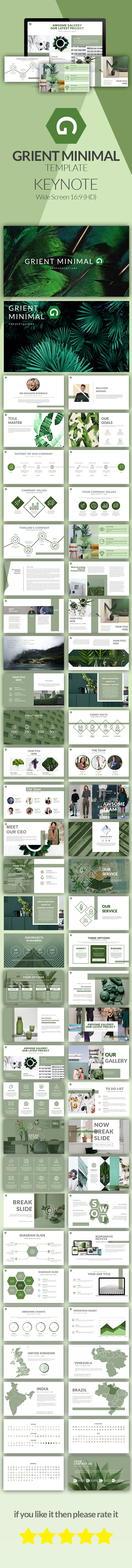 GraphicRiver Grient Minimal Presentations 21020309