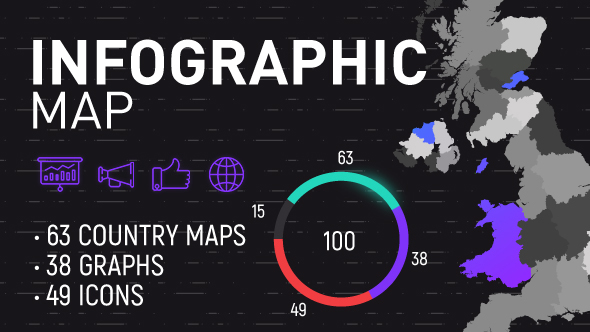 Infographics map by elenam videohive play preview video gumiabroncs Gallery