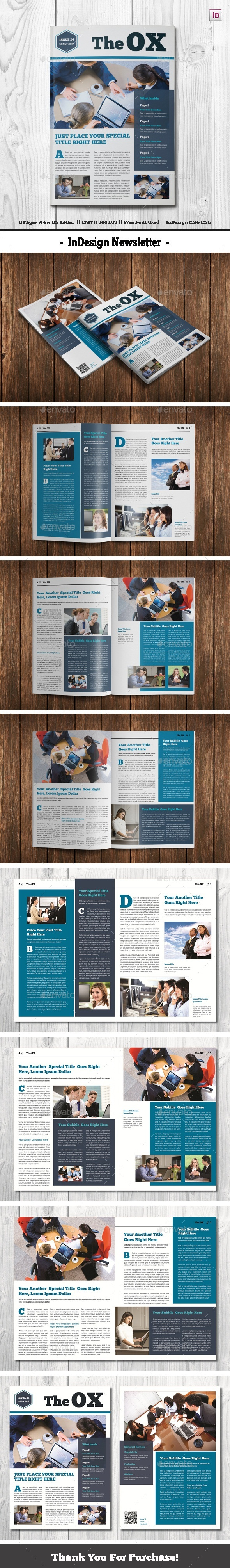 GraphicRiver InDesign Newsletter 21020379
