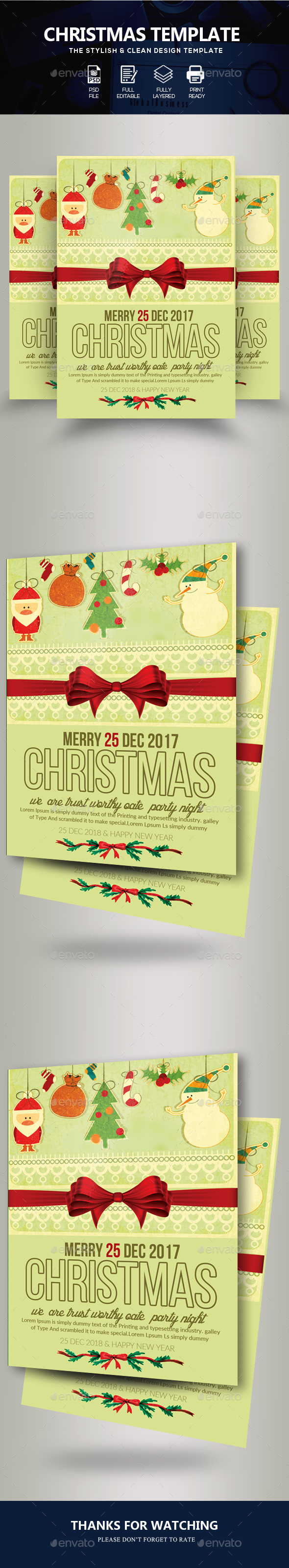 Charistmas Flyer Template - Events Flyers