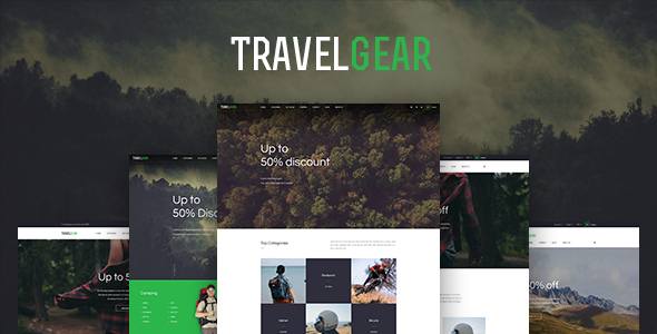 Image of Leo Travel Gear Prestashop Theme