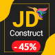 JD Construct - Construction & Building Joomla Template