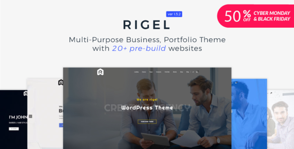 Rigel - Multi-Purpose Business Portfolio Theme