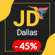 JD Dallas - Responsive Business Joomla 3.8 Template