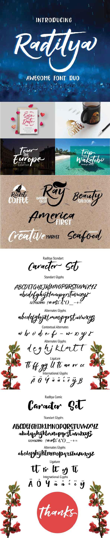 GraphicRiver Raditya Hand Script 21020892