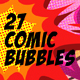 27 Comic Bubbles - VideoHive Item for Sale
