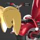 Santa Claus Single tire bike - 3DOcean Item for Sale