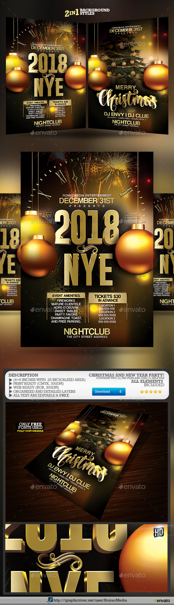 Christmas NYE Party - Clubs & Parties Events