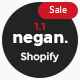 Negan - Clean, Minimal Shopify Theme - ThemeForest Item for Sale