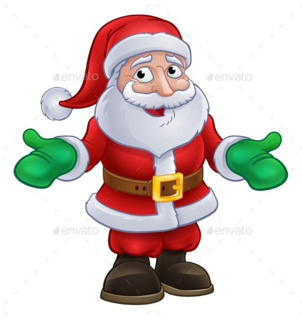GraphicRiver Santa Claus Christmas Character 21020967