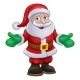 Santa Claus Christmas Character - GraphicRiver Item for Sale