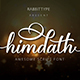 Himdath Script - GraphicRiver Item for Sale