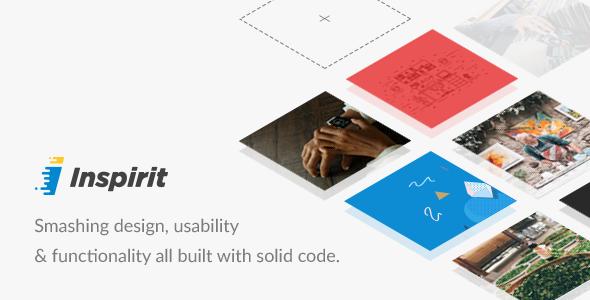 Inspirit - Responsive HTML5 Template