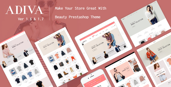 JMS Adiva - Responsive Prestashop Fashion Store Theme - Fashion PrestaShop