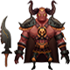 Low Poly Demon Lord - 3DOcean Item for Sale