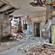 Interior of the old, abandoned and crumbling building - PhotoDune Item for Sale