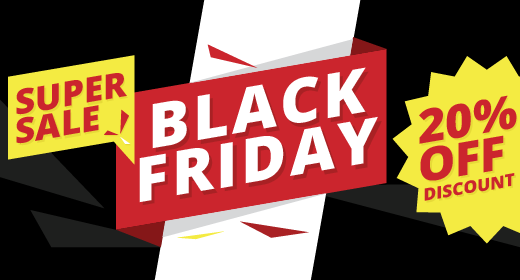 Black Friday and Cyber Monday Sale |  20% OFF PrestaShop Themes