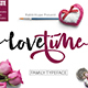 Lovetime ink Brush - GraphicRiver Item for Sale