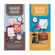 Business Office 2 Vertical Banners