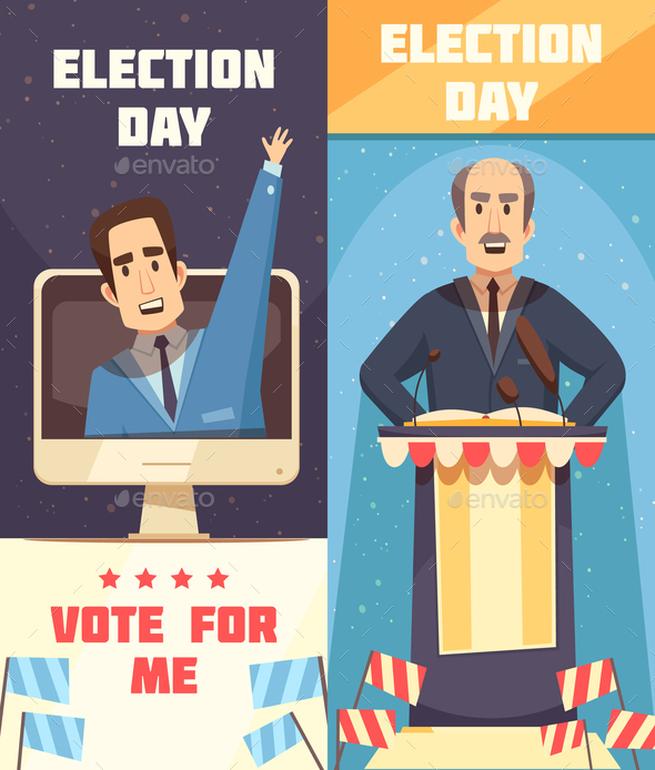 GraphicRiver Politics Election Campaigning Vertical Banners 21021461