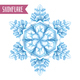 Realistic Snowflake Composition - GraphicRiver Item for Sale