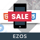 Ezos Mobile | Mobile Template - ThemeForest Item for Sale