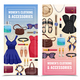 Women Accessories Vertical Banner Set