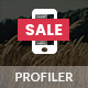 Profiler Mobile | Mobile Template - ThemeForest Item for Sale