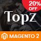 SM TopzStore - Advanced Responsive Magento 2 Theme
