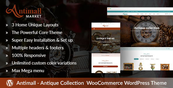 Download AntiqueMall – Antique Store Marketplace WordPress Theme            nulled nulled version