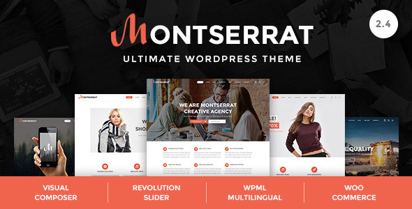 Montserrat - Multipurpose Modern WordPress Theme - Creative WordPress