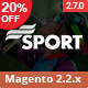 SM Sport - Responsive Magento 1.9 and Magento 2 Theme - ThemeForest Item for Sale