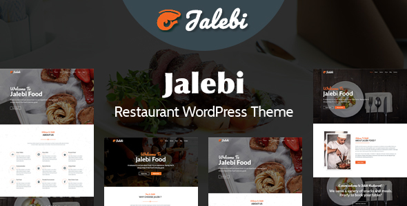 Image of Jalebi - Restaurant WordPress Theme