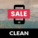 Clean Mobile | Mobile Template - ThemeForest Item for Sale