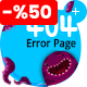 Lost - Under Construction & 404 Error Page - GraphicRiver Item for Sale