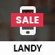 Landy Mobile | Mobile Template - ThemeForest Item for Sale