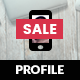 Profile Mobile | Mobile Template - ThemeForest Item for Sale