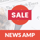 AMP News Mobile | Mobile Google AMP Template