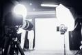Large photo studio with professional lighting. - PhotoDune Item for Sale