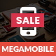Mega Mobile | Mobile Template - ThemeForest Item for Sale