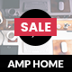 AMP Home Mobile | Mobile Google AMP Template