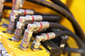 A wire connection. Railway industry - PhotoDune Item for Sale