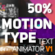 Motion Type - Text Animator - VideoHive Item for Sale