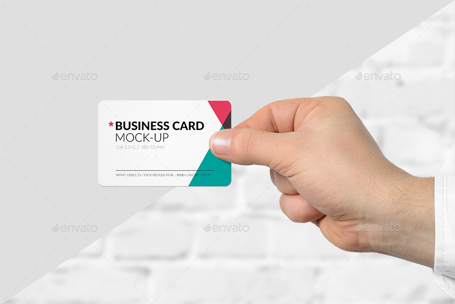Hand holding business card mock up set vol1 by primemockup hand holding business card mock up set vol1 colourmoves