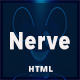 Nerve - Parallax One Page - ThemeForest Item for Sale