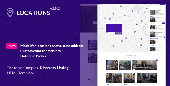 Locations - Multipurpose Directory Template - Corporate Site Templates