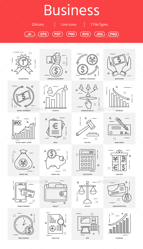 GraphicRiver 15& Vector Business Illustration vol 12 21022865